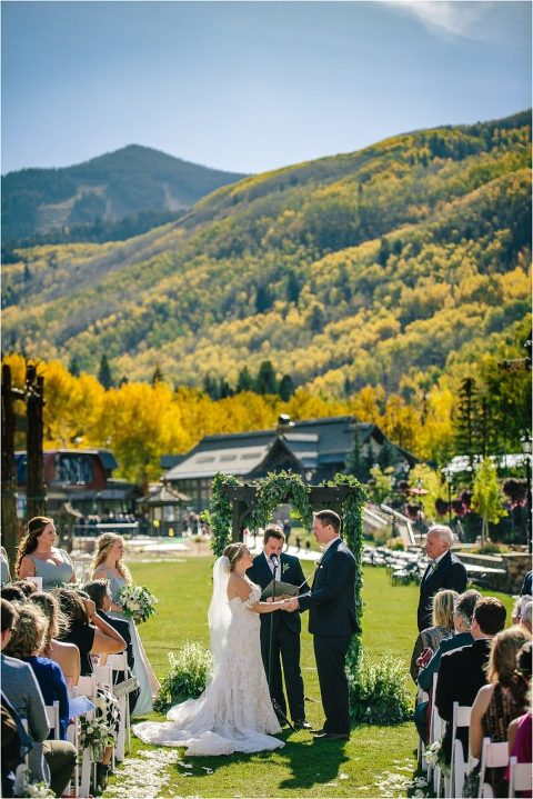 Vail wedding videographer, Vail wedding photographer, Park Hyatt at Beaver creek wedding, Vail ski resort wedding, fall Vail wedding, Mountain Wedding, Rocky Mountain wedding