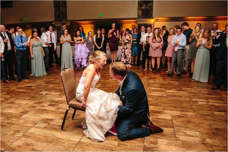 Park Hyatt at Beaver Creek wedding, Park Hyatt at Beaver Creek wedding reception, Park Hyatt at Beaver Creek reception, Park Hyatt at Beaver Creek dance floor, wedding dance floor, Vail wedding photographer, Vail wedding videographer, Garter Toss