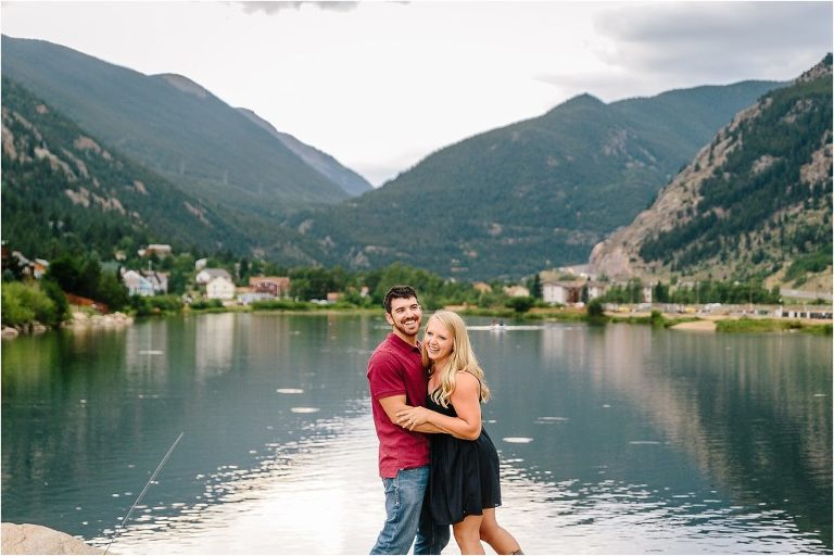 Rocky Mountain Engagement, Rocky Mountain Engagement session, Rocky Mountain Engagement photographer, Guanella Pass engagement, Guanella Pass engagement session, Guanella Pass engagement session, Guanella Pass engagement photographer, Colorado engagement, Colorado engagement session, Colorado engagement photographer, Georgetown engagement, Georgetown engagement session, Georgetown engagement photographer, Georgetown Lake engagement session, Georgetown Engagement photographer, Rocky Mountain couple dancing, Rocky Mountain couple laughing
