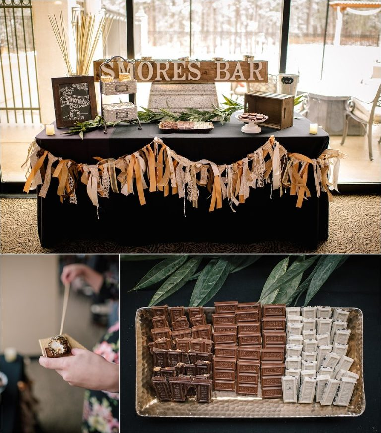 Wedgewood Black Forest wedding, Wedgewood Black Forest details, Wedgewood Black Forest seating chart, wedding details, rustic wedding details, Wedgewood Black Forest rustic wedding details, Wedgewood Black Forest Smores bar, Smores bar, wedding smores